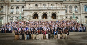 CA Students in Albany 2014